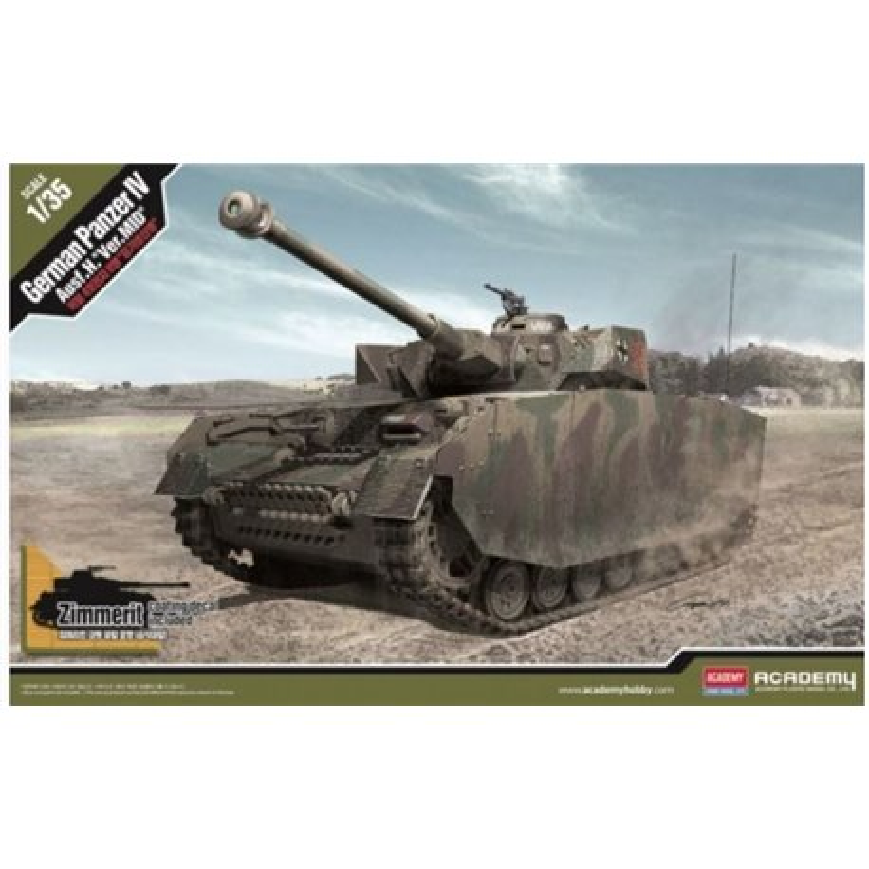 Academy 13516 1/35 Pz.KpfW IV Ausf. H Mid