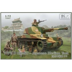 IBG Models 72057 1/72 Type 3 Chi-Nu Japanese Medium Tank
