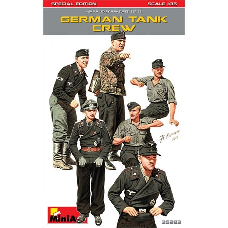 Miniart 35283 1/35 GERMAN TANK CREW. SPECIAL EDITION