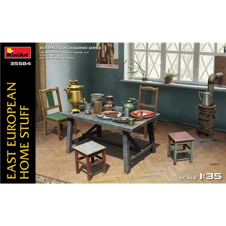 Miniart 35584 1/35 EAST EUROPEAN HOME STUFF