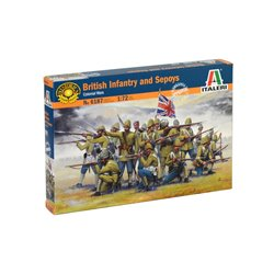 ITALERI 6187 1/72 British Infantry and Sepoys