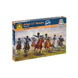 ITALERI 6188 1/72 British 11th Hussars Crimean War