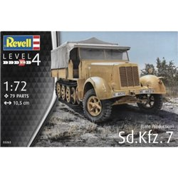 Revell 03263 1/72 Sd.Kfz.7 (Late Production)