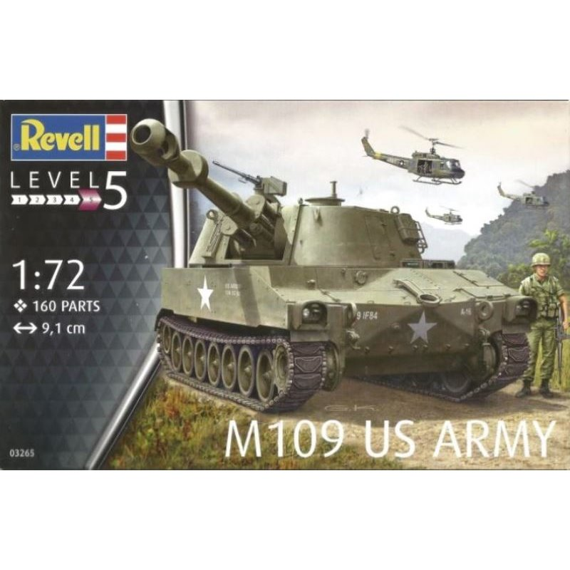 Revell M109 US Army in 1:72 Revell 03265