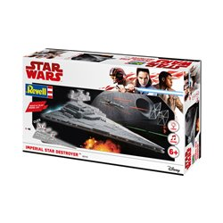 Revell 06749 1/400 Star Wars Imperial Star Destroyer Build & Play