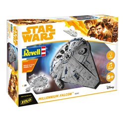 Revell 06767 1/164 SOLO A Star Wars Story Millennium Falcon Build & Play