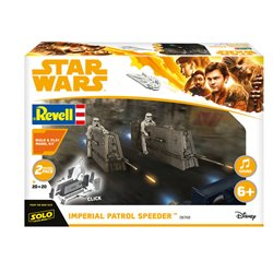 REVELL 06768 1/28 Star Wars Imperial Patrol Speeder Build & Play with sound