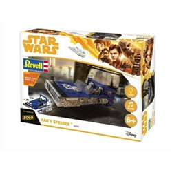 REVELL 06769 1/28 Han's Speeder Build & Play with lights & sound