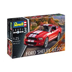 Revell 07044 1/25 2010 Ford Shelby GT 500