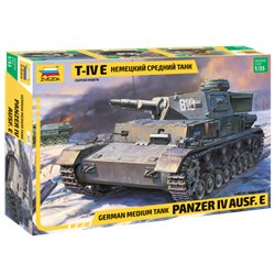ZVEZDA 3641 1/35 German Medium Tank Panzer IV Ausf.E
