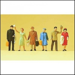 Preiser 14020 Figurines HO 1/87 Voyageurs - Passengers