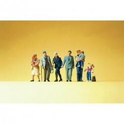 Preiser 14030 Figurines HO 1/87 Travaux publics - Raod workers