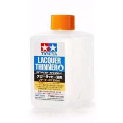 Tamiya 87194 Diluant Laque Retardeur - Lacquer Thinner Retarder 250ml