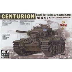 AFV Club AF35100 1/35 Centurion Mk 5/1 (Vietnam Version) Royal Australian Armoured Corps