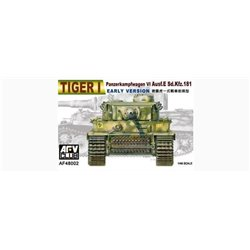 AFV Club AF48002 1/48 Panzerkampfwagen VI Ausf.E Sd.Kfz.181 Tiger I Early version