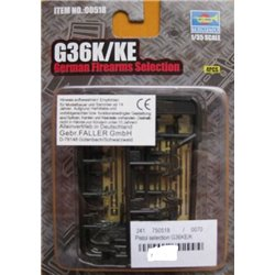 Trumpeter 00518 1/35 German Firearms Selection G36K/KE
