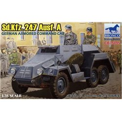 Bronco CB35095 1/35 Sd.Kfz. 247 Ausf. A German armored command car