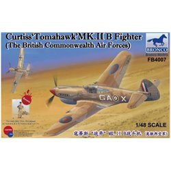 Bronco FB4007 1/48 Curtiss 'Tomahawk' Mk.II B Fighter The British Commonwealth Air Force