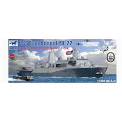 Bronco NB5038 1/350 LPD-22 USS San Diego
