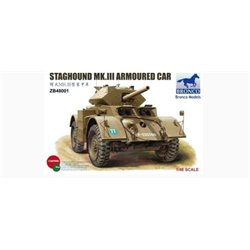 Bronco ZB48001 1/48 Staghound Mk.III Armoured Car
