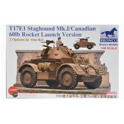 Bronco ZB48003 1/48 Staghound Mk.I Armored Car