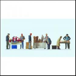Preiser 14062 Figurines HO 1/87 Equipage - Ship's crew