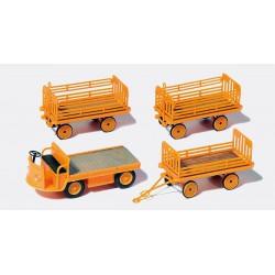 Preiser 14063 Figurines HO 1/87 Equipage - Ship's crew