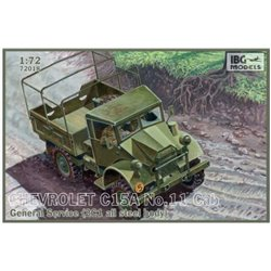 IBG Models 72018 1/72 Chevrolet C15A No.11 Cab General Service (2C1 all steel body)