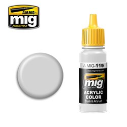 AMMO OF MIG A.MIG-0119 Acrylic Color Cold Gray 17ml