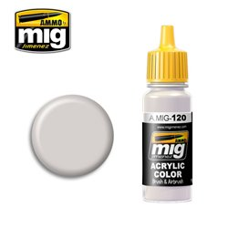 AMMO OF MIG A.MIG-0120 Peinture Brun Gris Clair - Light Brown Gray 17ml