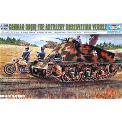 Trumpeter 00355 1/35 German 38(H) The Artillery Observation Vehicle