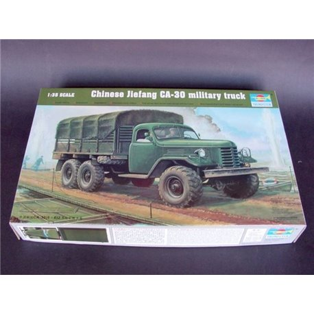 Trumpeter 01002 1/35 Chinese Jiefang CA-30 Military Truck (Trumpeter 01001 Rebox)