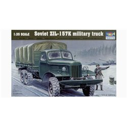Trumpeter 01003 1/35 Zil-157K 6x6 Military Truck