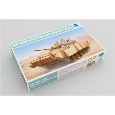 Trumpeter 01532 1/35 BMP-3(UAE) w/ERA tiles and combined screens