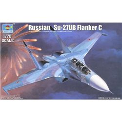 Trumpeter 01645 1/72 Russian Su-27UB Flanker C Fighter