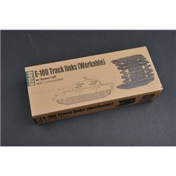 Trumpeter 02049 1/35 E-100 Track links (Workable) for *German E-100