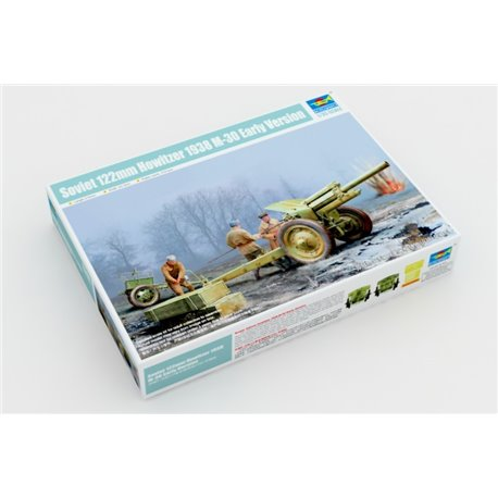 Trumpeter 02343 1/35 Soviet 122mm Howitzer 1938 M-30 Early Version