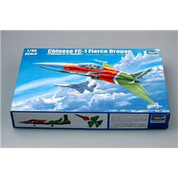 Trumpeter 02815 1/48 Chinese FC-1 Fierce Dragon Pakistani JF-17 Thunder