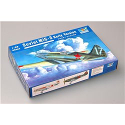 Trumpeter 02830 1/48 Soviet MiG-3 Early Version