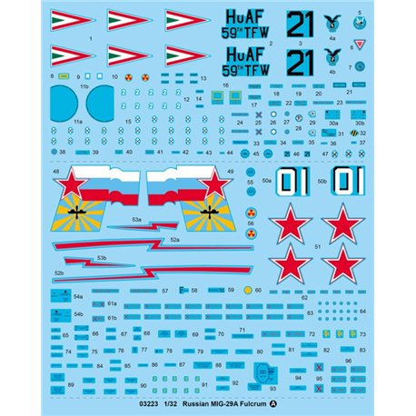Trumpeter 03223 1/32 Russian MIG-29A Fulcrum