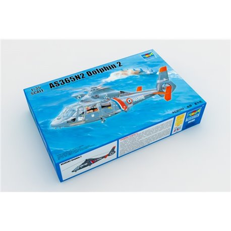 Trumpeter 05106 1/35 AS365N2 Dolphin 2 Helicopter