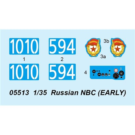 Trumpeter 05513 1/35 Russian NBC (EARLY)