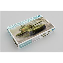 Trumpeter 05537 1/35 PLA Type 62 light Tank