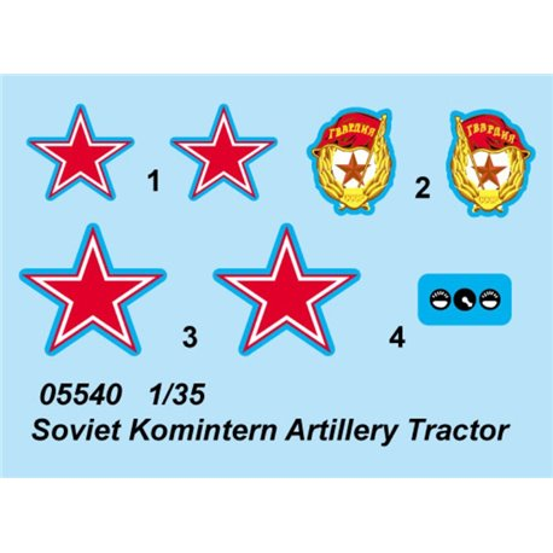 Trumpeter 05540 1/35 Soviet Komintern Artillery Tractor