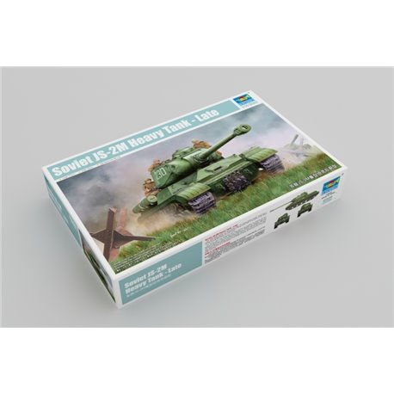 Trumpeter 05590 1/35 Soviet JS-2M Heavy Tank Late