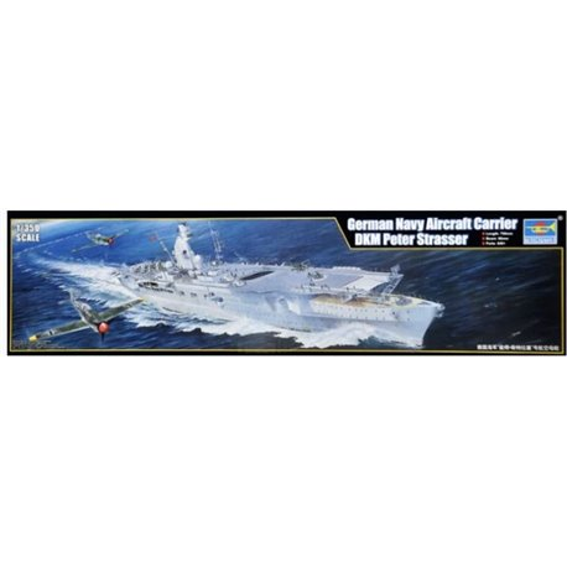 Trumpeter 05628 1/350 Aircraft Carrier DKM Peter Strasser