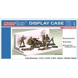 Trumpeter 09810 Display Case 232mm x 120mm x 86mm