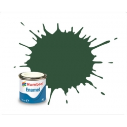 HUMBROL Peinture Enamel 78 COCKPIT GREEN 14ml MATT