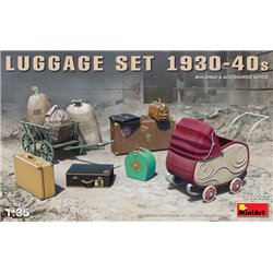 MINIART 35582 1/35 LUGGAGE SET 1930-40s