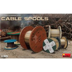 MINIART 35583 1/35 CABLE SPOOLS